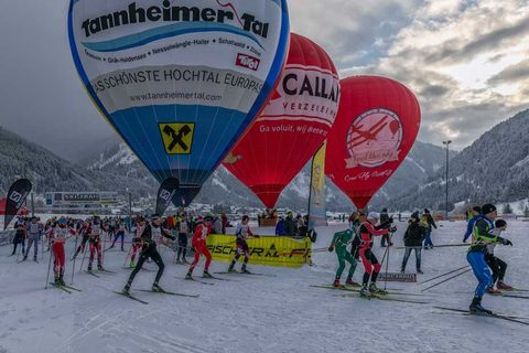 Start beim Ski-Trail Tannheimer Tal - Bad Hindelang