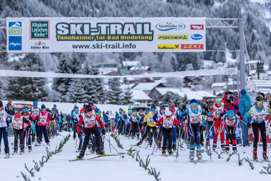 Start zum Mini-Ski-Trail